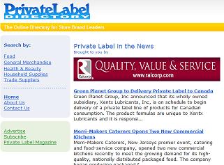 Private Label Directory